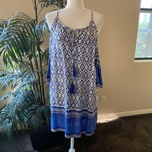 Aakaa Cold-Shoulder Summer Dress Size S